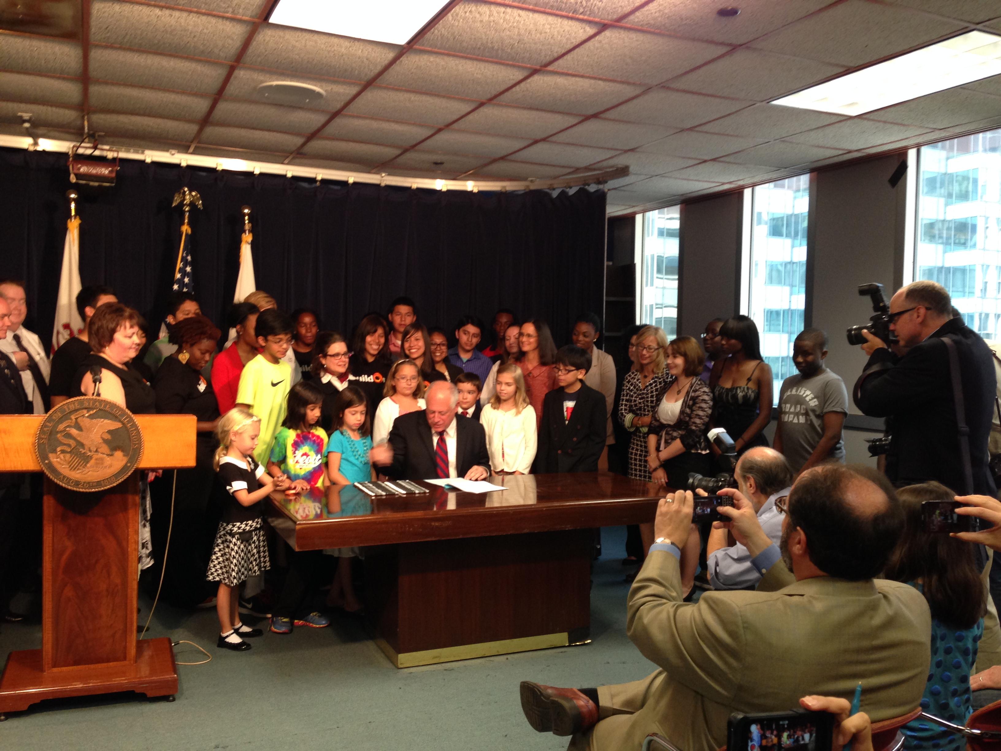 HB 5892 Bill Signing July 2014