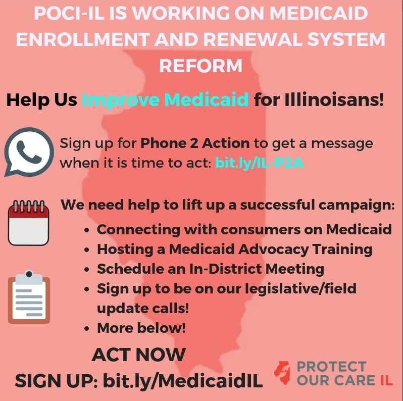 Help Protect Our Care Illinois improve Medicaid for Illinoisans
