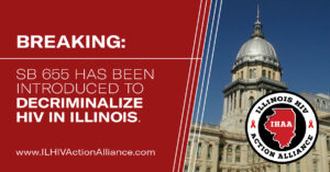Illinois legisilation introduced to decriminalize HIV